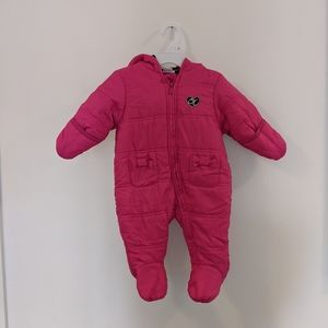 Calvin Klein Zip Up Snowsuit 3-6 Months